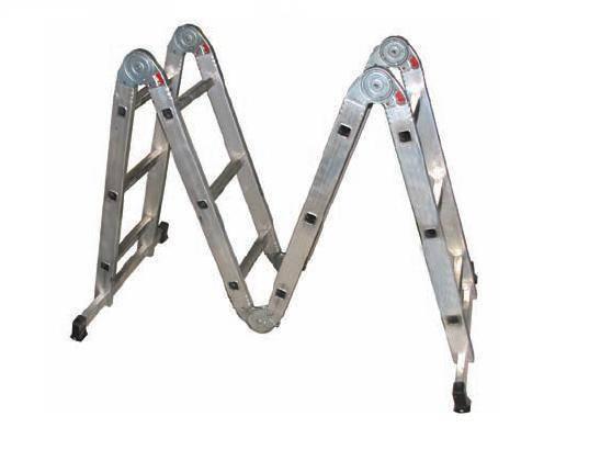 Двухсекционная алюминиевая лестница: особенности конструкции и сферы применения