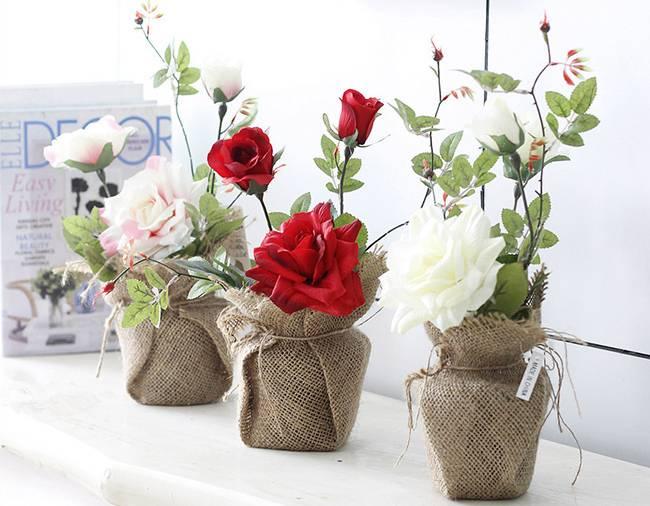 Декоративные искусственные цветы – украшаем интерьер дома и сада