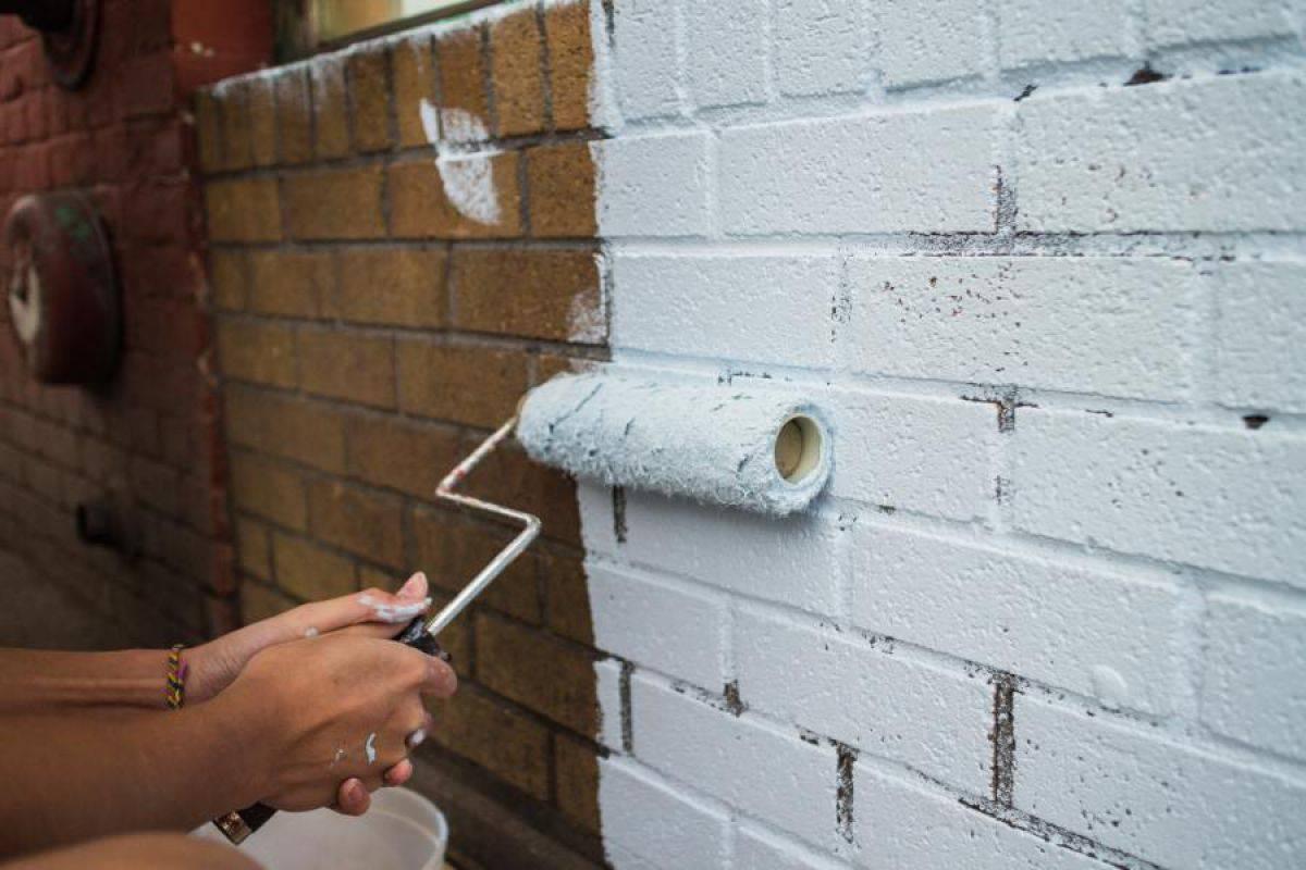 как покраска кирпичных стен внутри фото проста уходе более