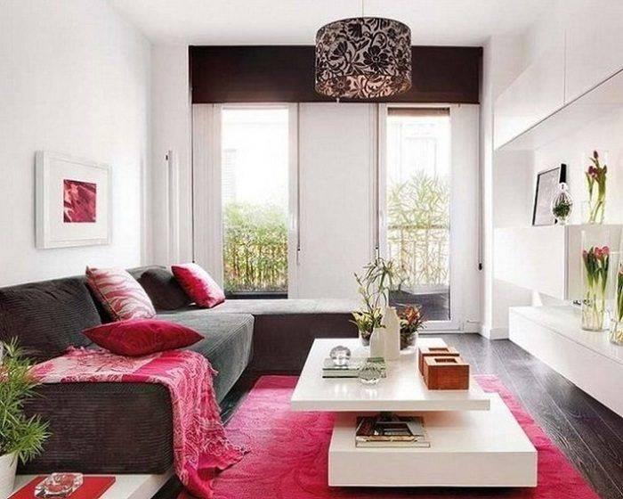 Интерьер маленькой гостиной: уютный и современный дизайн комнаты, фото