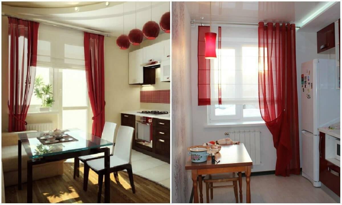 Шторы на кухню: лучшие модели, советы по выбору и примеры красивого оформления кухни при помощи штор (145 фото)