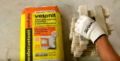 Особенности выбора морозостойкого клея для плитки для наружных работ