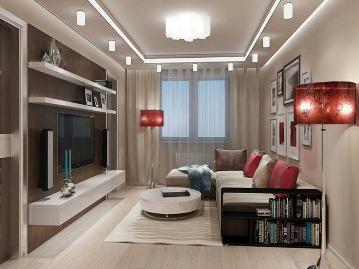 Идеи для ремонта зала в квартире фото символ