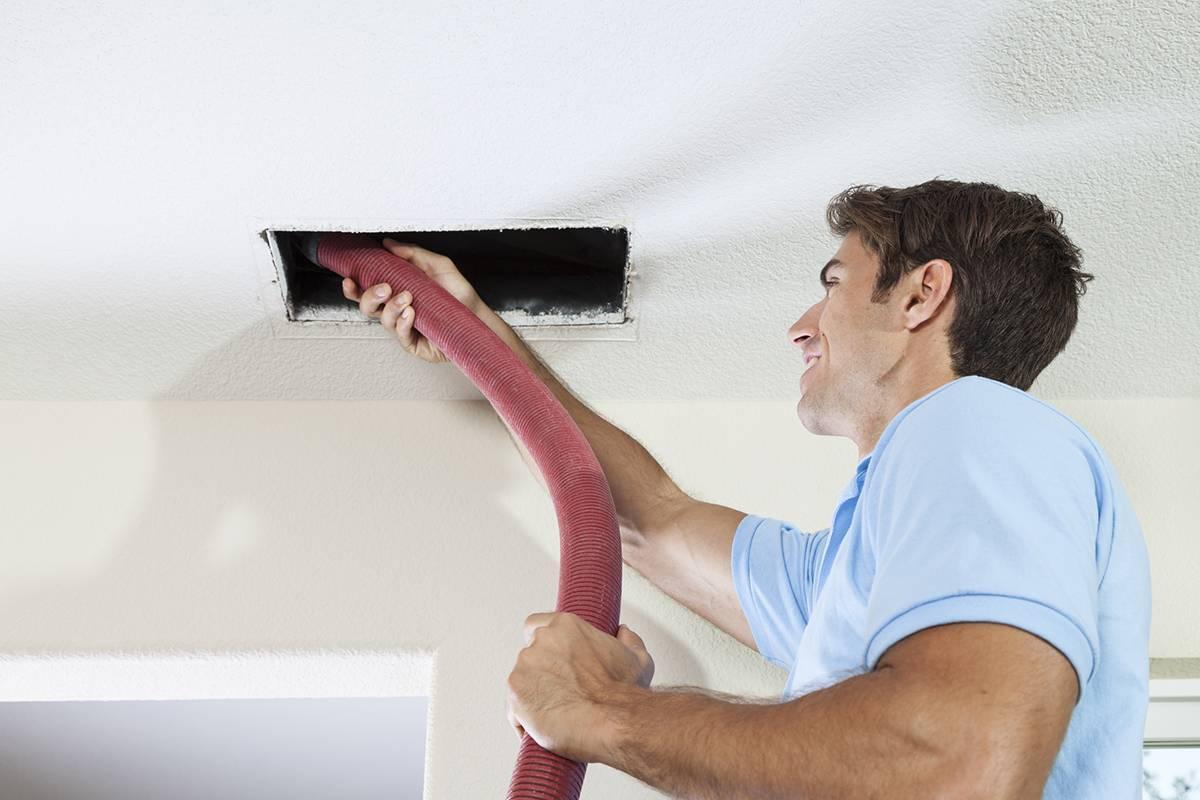 Очистка вентиляции в многоквартирном доме и на производстве