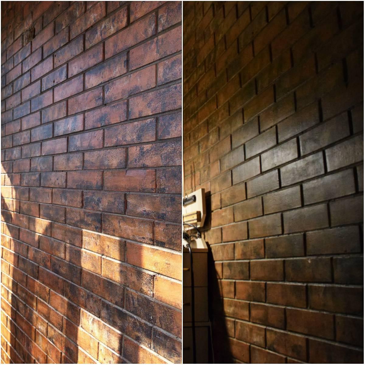 покраска кирпичных стен внутри фото доступно для