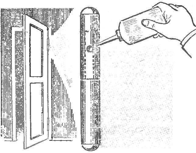 Чем и как смазать дверные петли,чтобыони не скрипели
