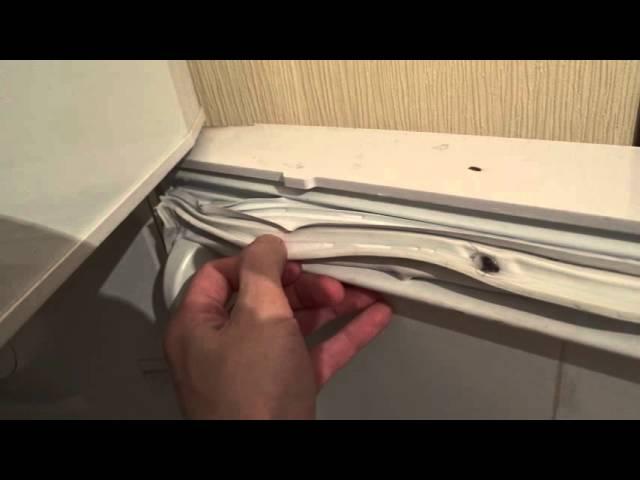 Как заменить уплотнительную резинку на холодильнике: 14 шагов и 4 совета