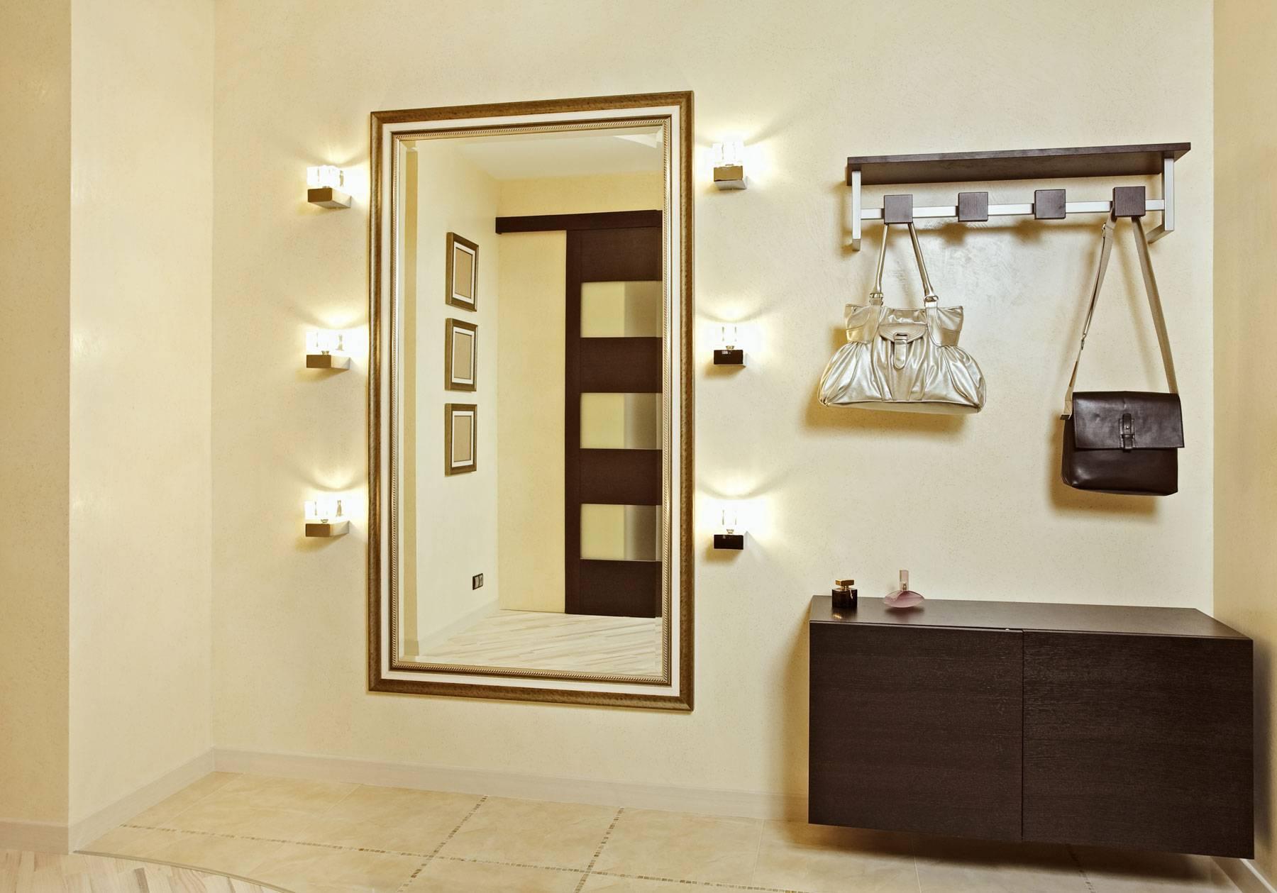 Зеркало в прихожую: 110 фото креативных идей проектирования прихожих с зеркалами