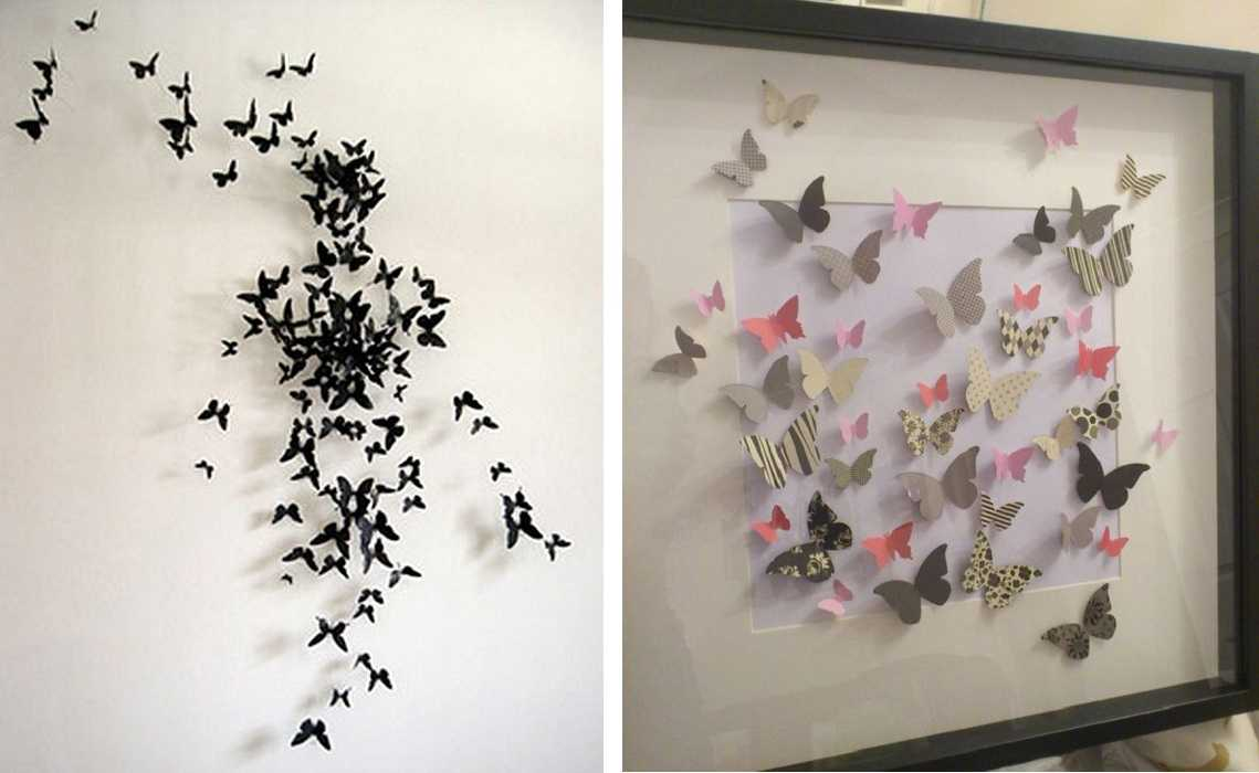 Бабочки на стену своими руками :: инфониак