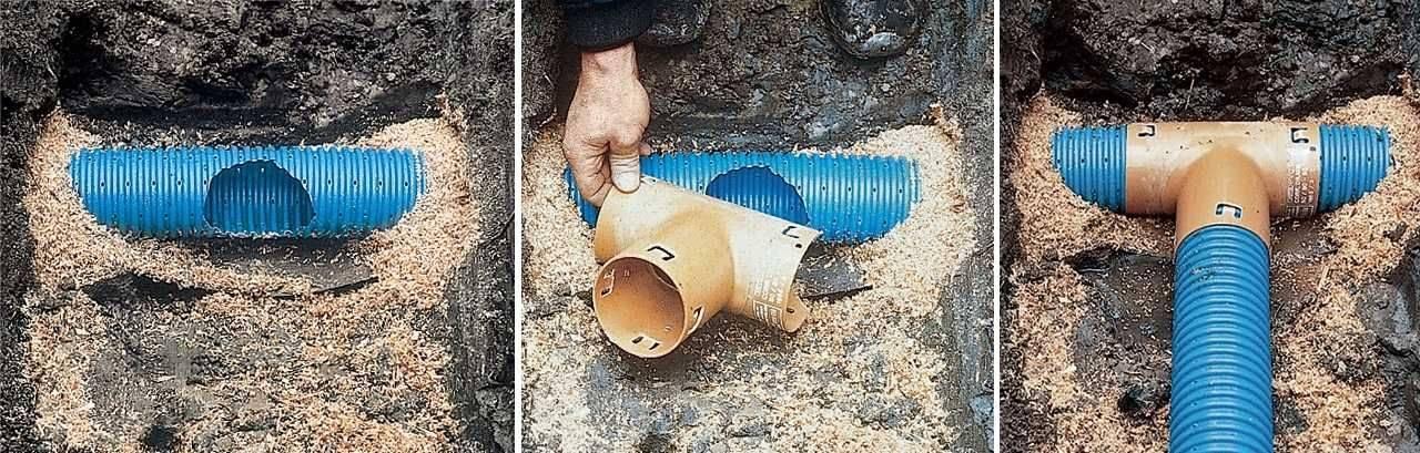 Дренажные трубы: особенности, виды и материалы, правила укладки