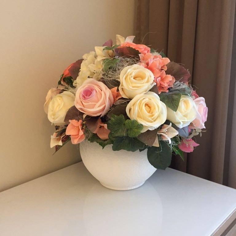 Искусственные цветы своими руками – лучшие оригинальные идеи оформления домашнего интерьера