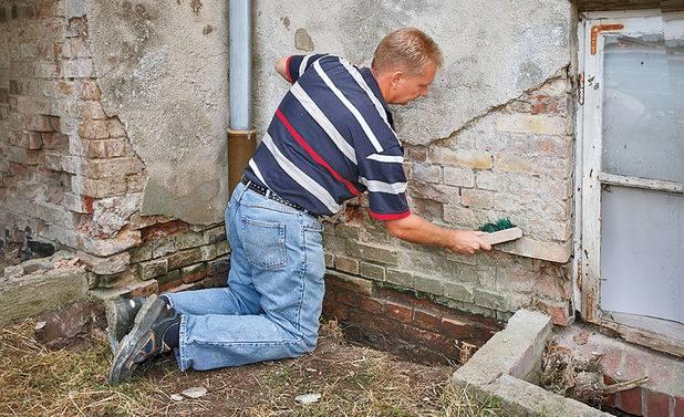 Оштукатуривание фасада частного дома
