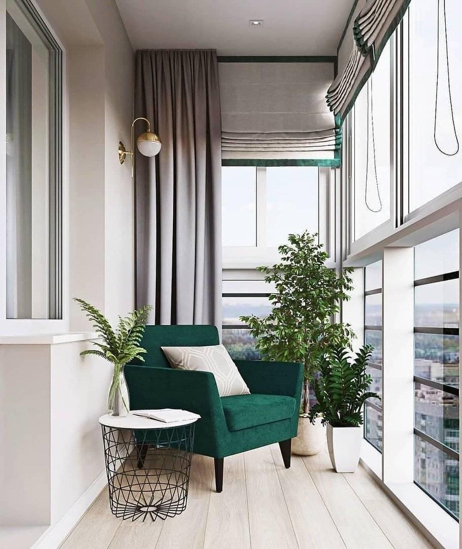 Как оформить выход на балкон фото идеи
