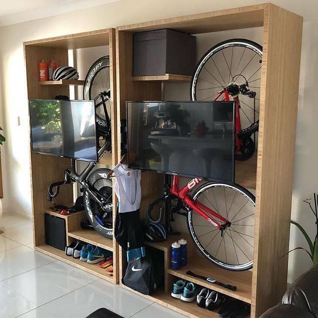 Где и как хранить велосипед в доме? 70 фото-идей