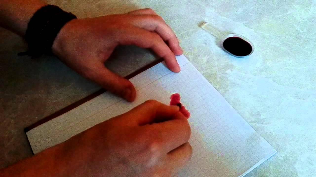 Как стереть ручку с бумаги без следов в домашних условиях