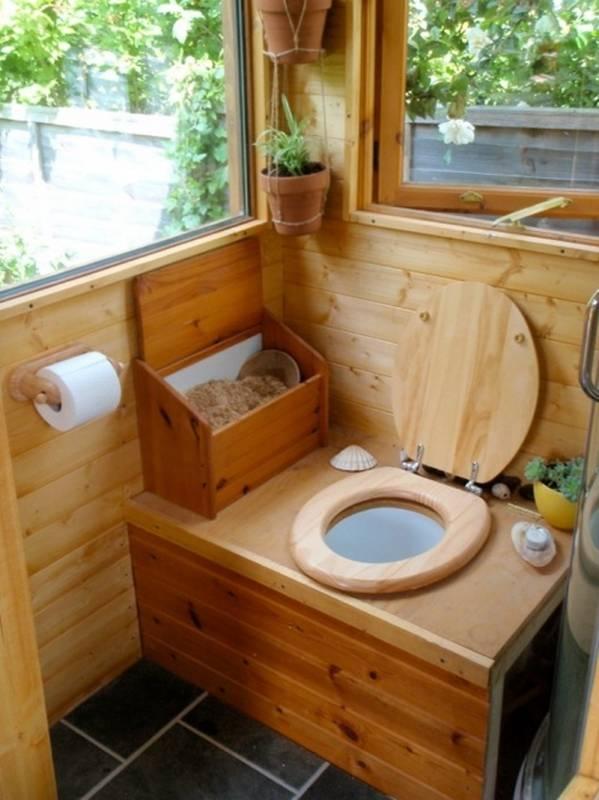 Как в частном доме сделать туалет