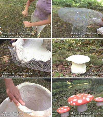 Поделки из цемента: пошаговая инструкция как сделать своими руками поделку из цементного раствора (100 фото)