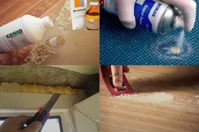 Чем отмыть с рук монтажную пену, жидкие гвозди и герметик