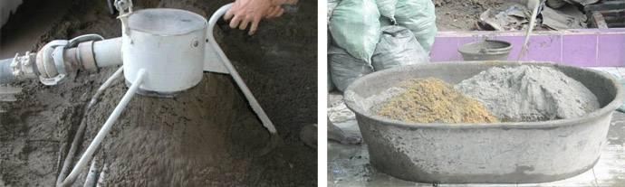 Как сделать цементный раствор?