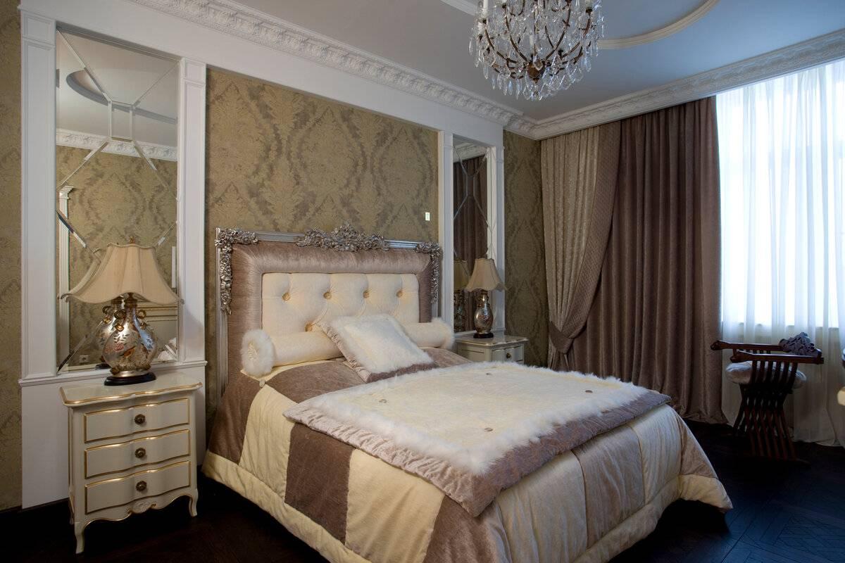 картинки спальни в классическом стиле них также
