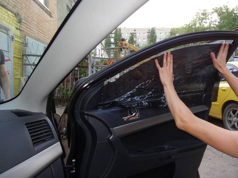 Тонировка стекол автомобиля своими руками или на сервисе