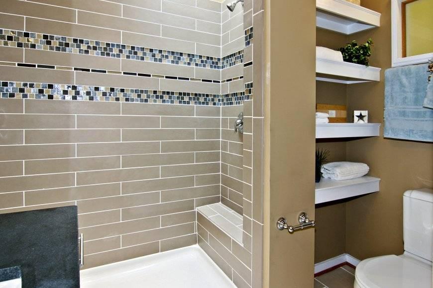 Дизайн ванной комнаты — отделка мозаикой