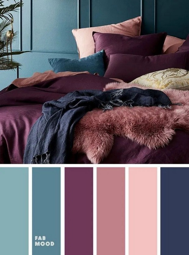 Какой цвет лучше выбрать для спальни, сочетания оттенков и правила оформления интерьера