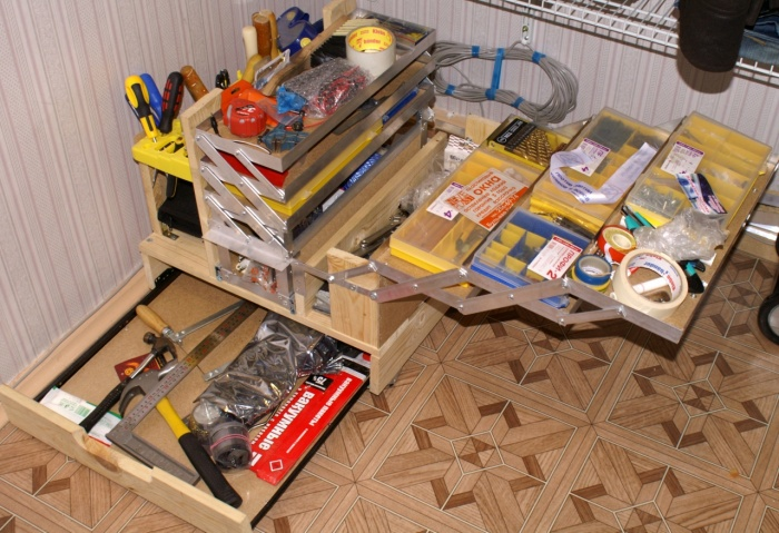 Ящик для инструментов своими руками — металлический, пластиковый