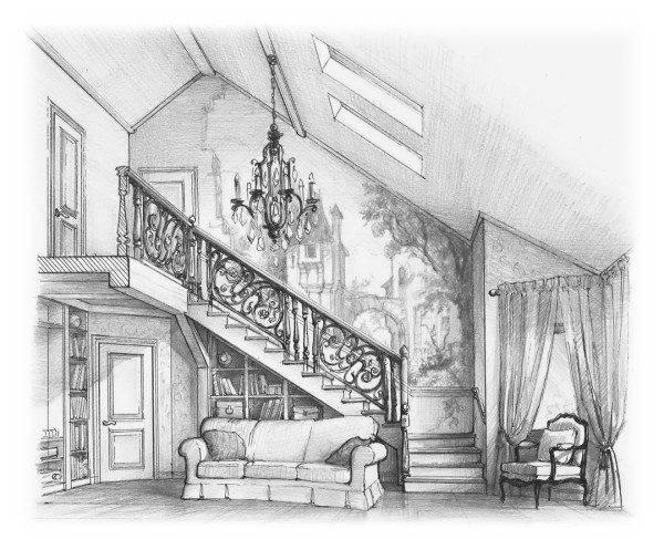 Человек, не обделенный художественным талантом, может нарисовать лестницу своей мечты. Но строитель его не поймет.