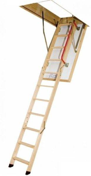 Чердачная лестница Fakro ltk thermo — легкая и надежная конструкция