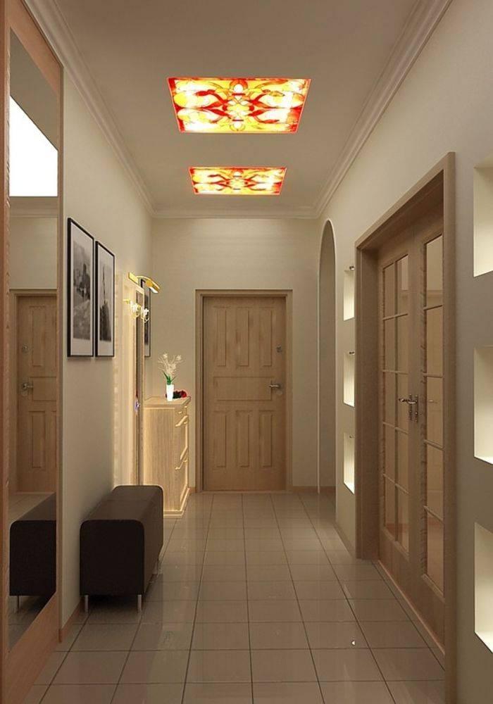 основных рекомендаций, натяжной потолок в узкой прихожей дизайн фото мы