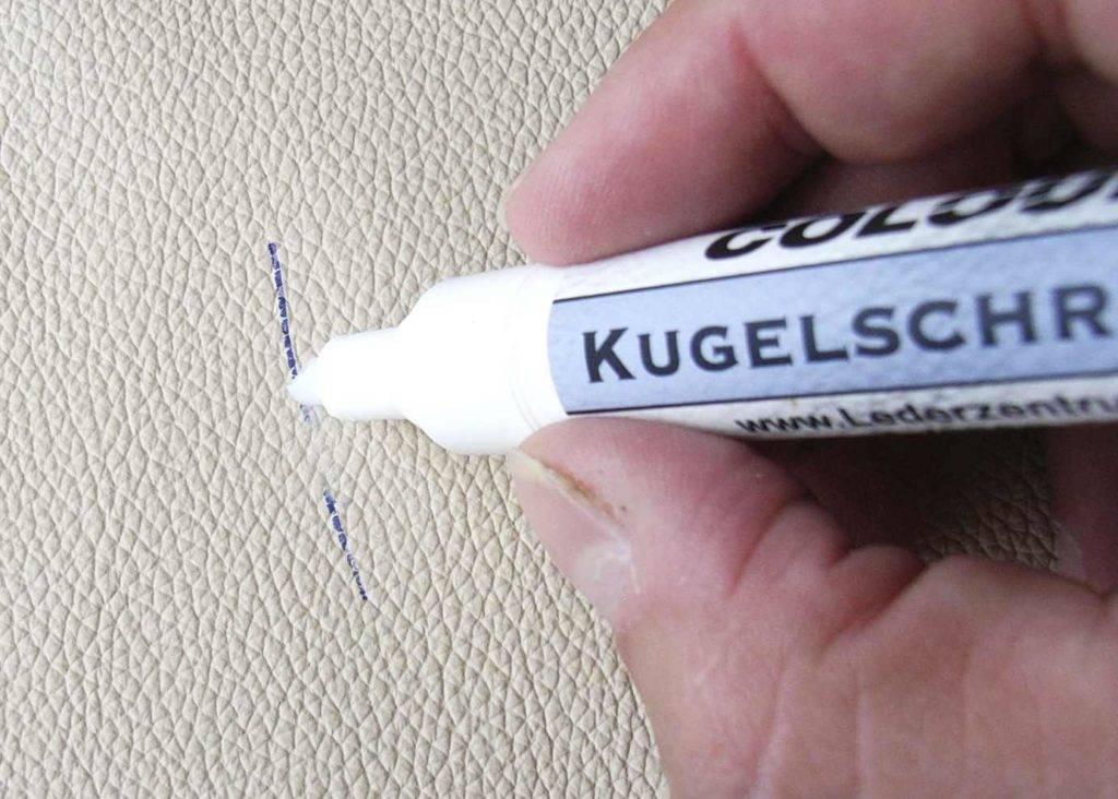 Как оттереть ручку с обоев