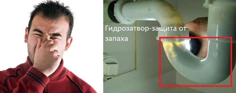Как устранить неприятный запах из раковины