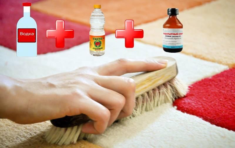 Как убрать запахи с ковра: сырости, затхлости, рвоты и других