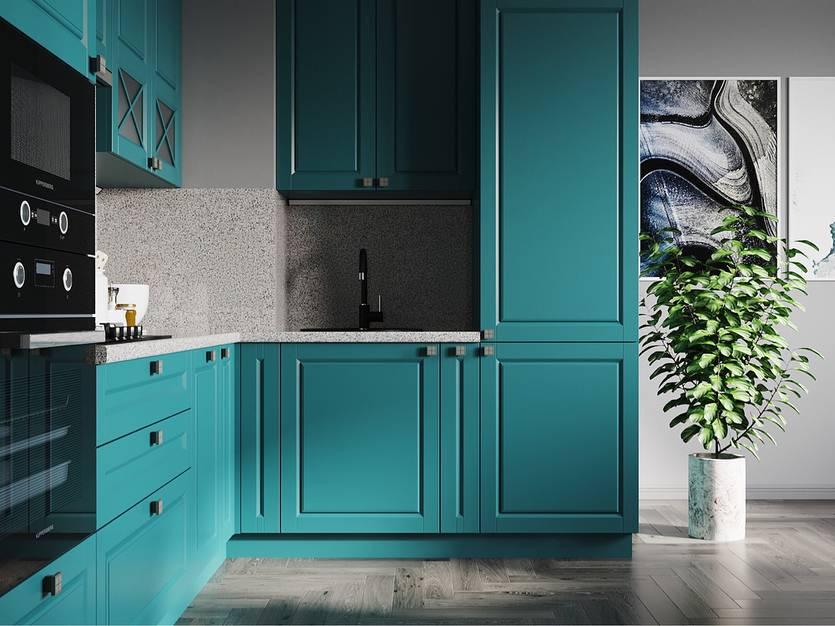 Стены бирюзового цвета — идеи дизайна, стильные сочетания и особенности оформления (130 фото)