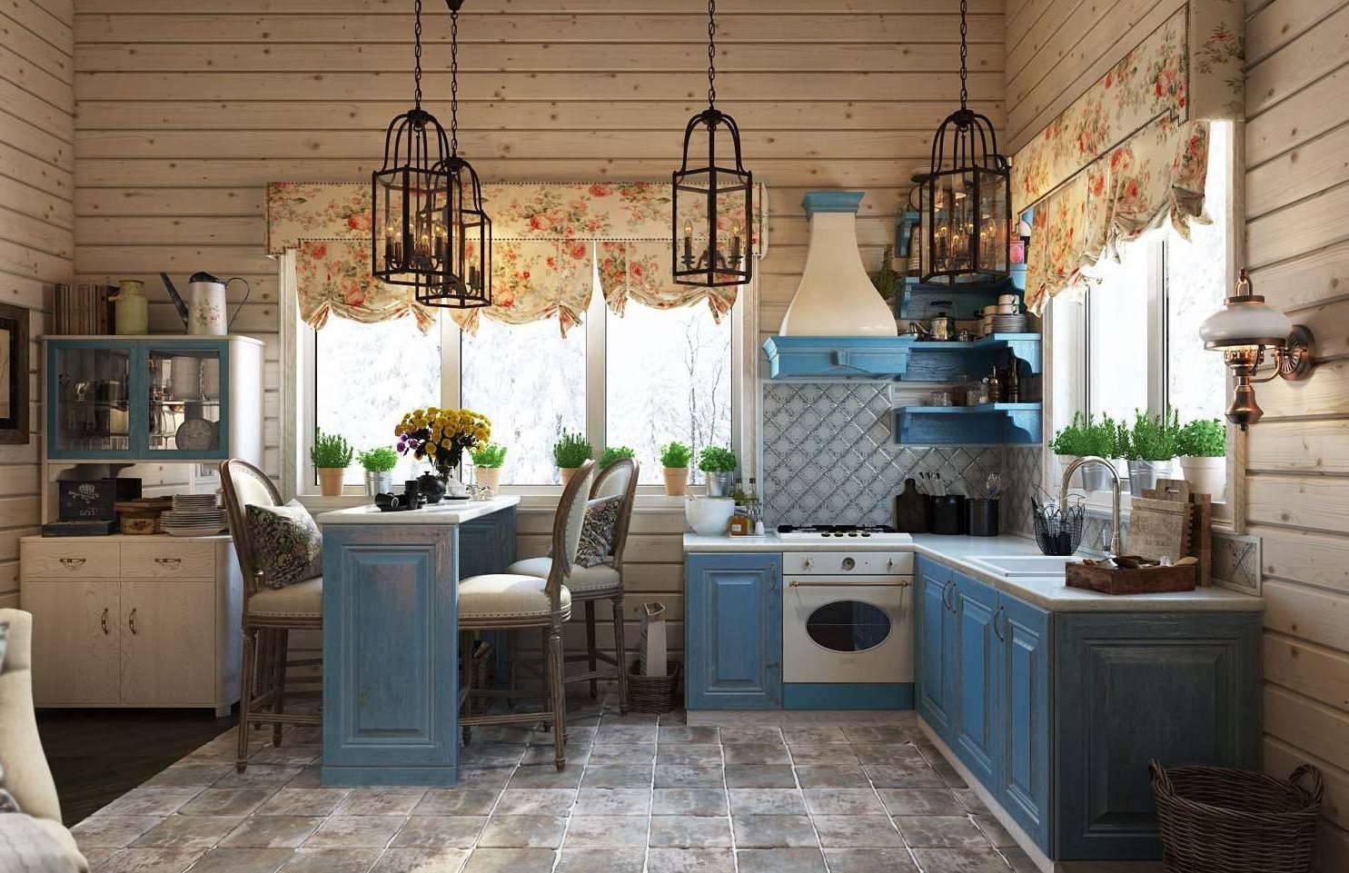 В чём фишка дизайна кухни в стиле прованс и как сделать всё правильно?