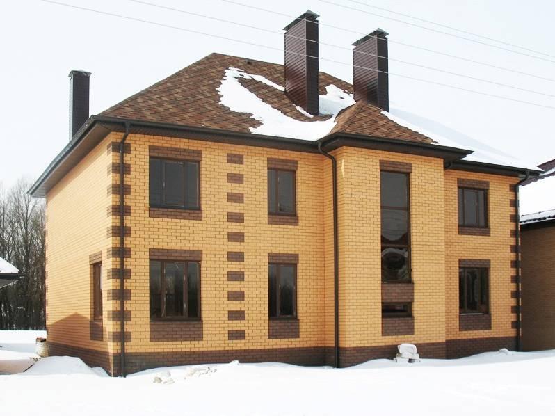 занятых фото домов из желтого и коричневого кирпича страницы