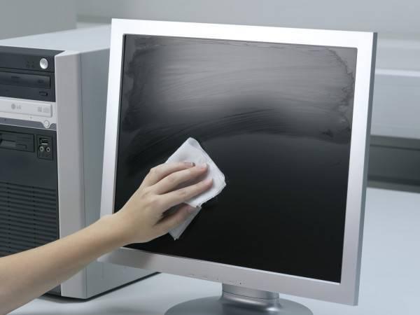 Как почистить монитор или жк-экран в домашних условиях?