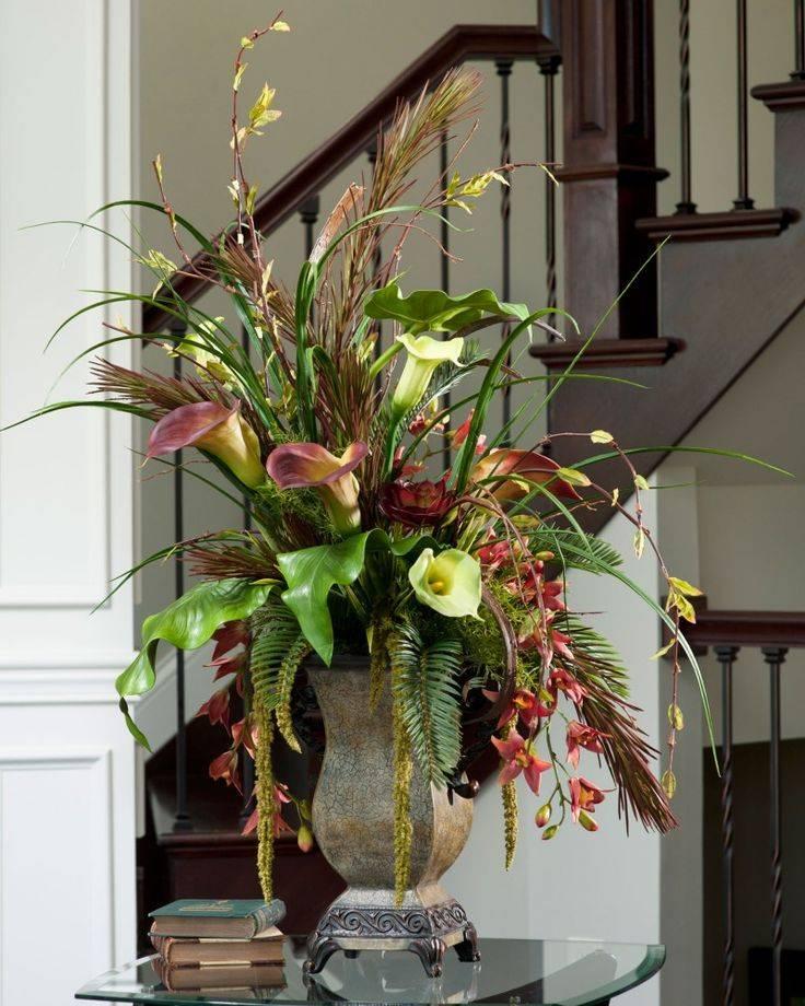 Цветы и комнатные растения в интерьере: советы и рекомендации по оформлению фитодизайна
