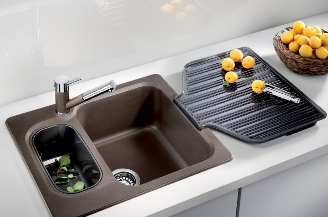 Пластиковые мойки для кухни фото