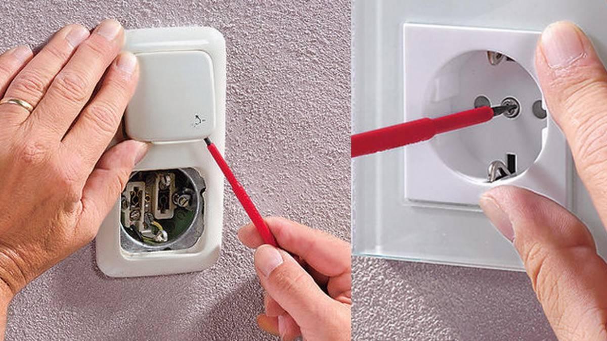 Как поменять выключатель