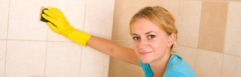 Как очистить плитку в ванной: домашние способы чистоты