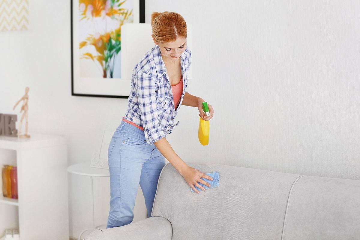 Как можно убрать запахи с дивана