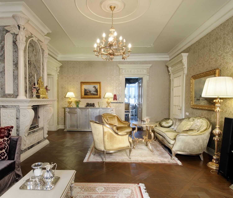 Дизайн гостиной в классическом стиле – беспроигрышный вариант оформления - уютный дом