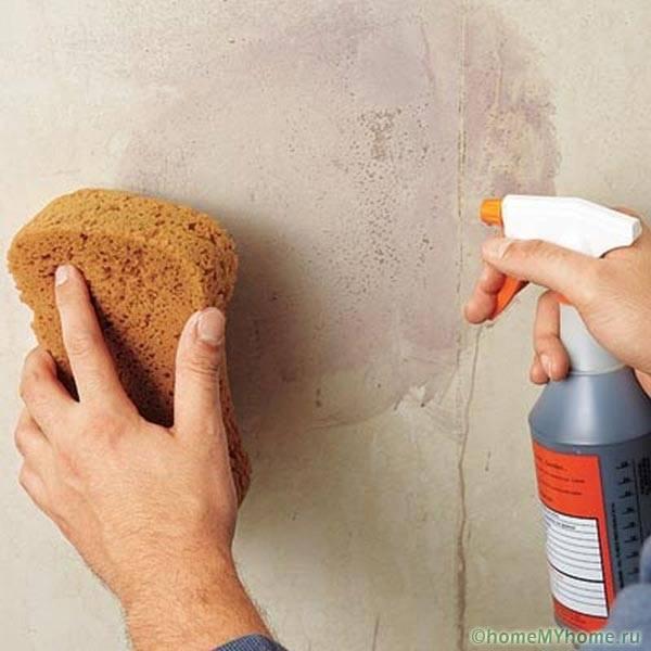 Чем отмыть грунтовку с плитки на полу