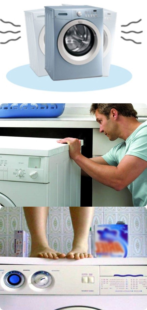 Почему стиральная машинка прыгает при отжиме: основные причины и способы их устранения