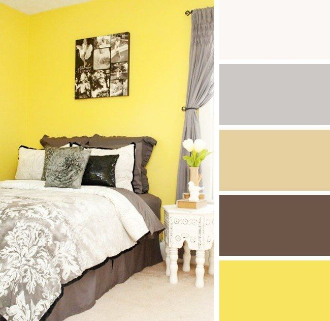 Сочетание цветов в интерьере спальни, или как не ошибиться с комбинацией оттенков