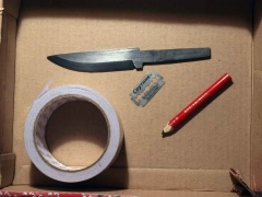 Нож из диска циркулярной пилы своими руками