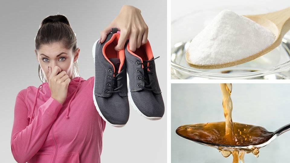 Как быстро убрать запах пота, плесени икошачьей мочи изобуви: подборка рецептов ипрофилактика