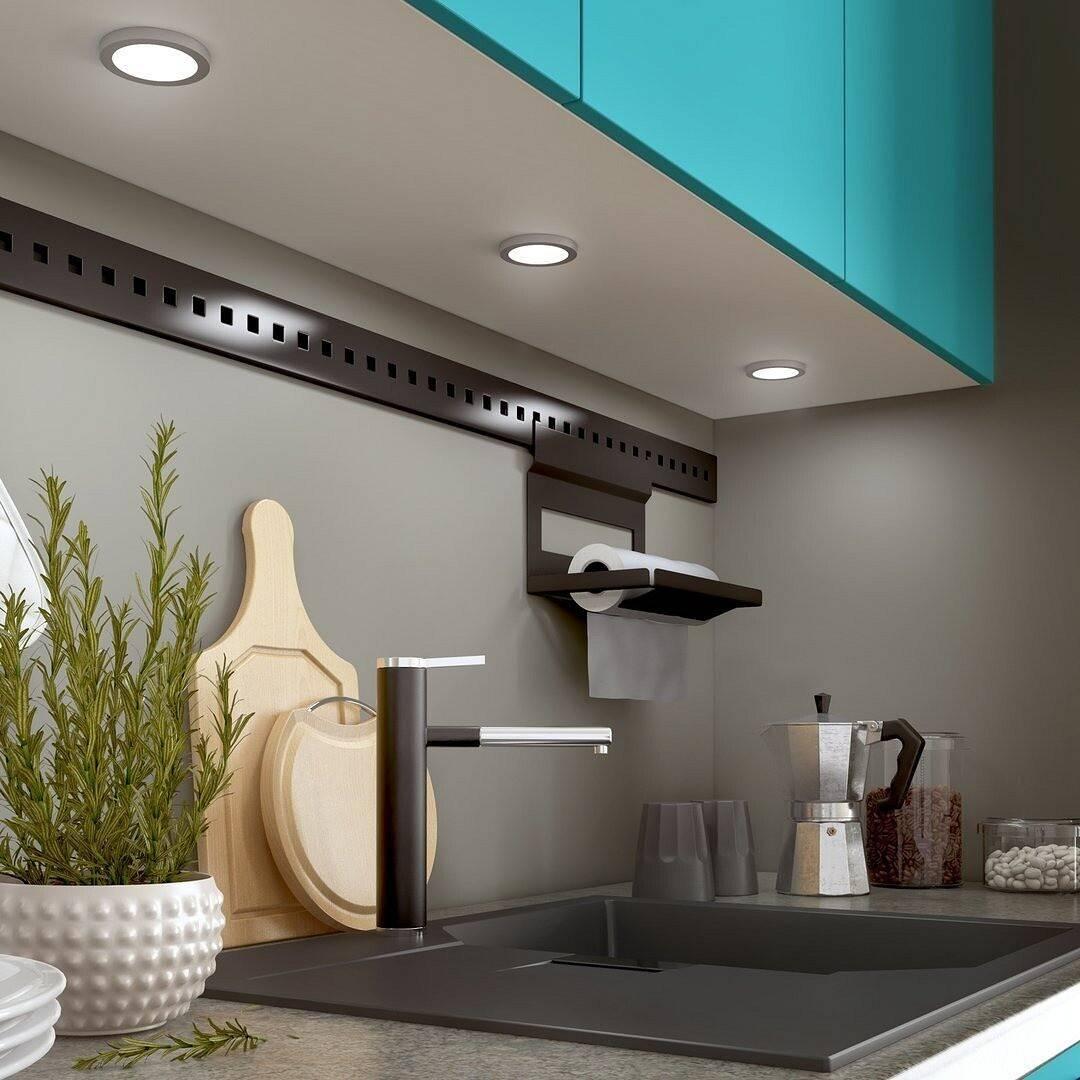 Светодиодная подсветка рабочей зоны на кухне: фото интерьера, диодная или лампа